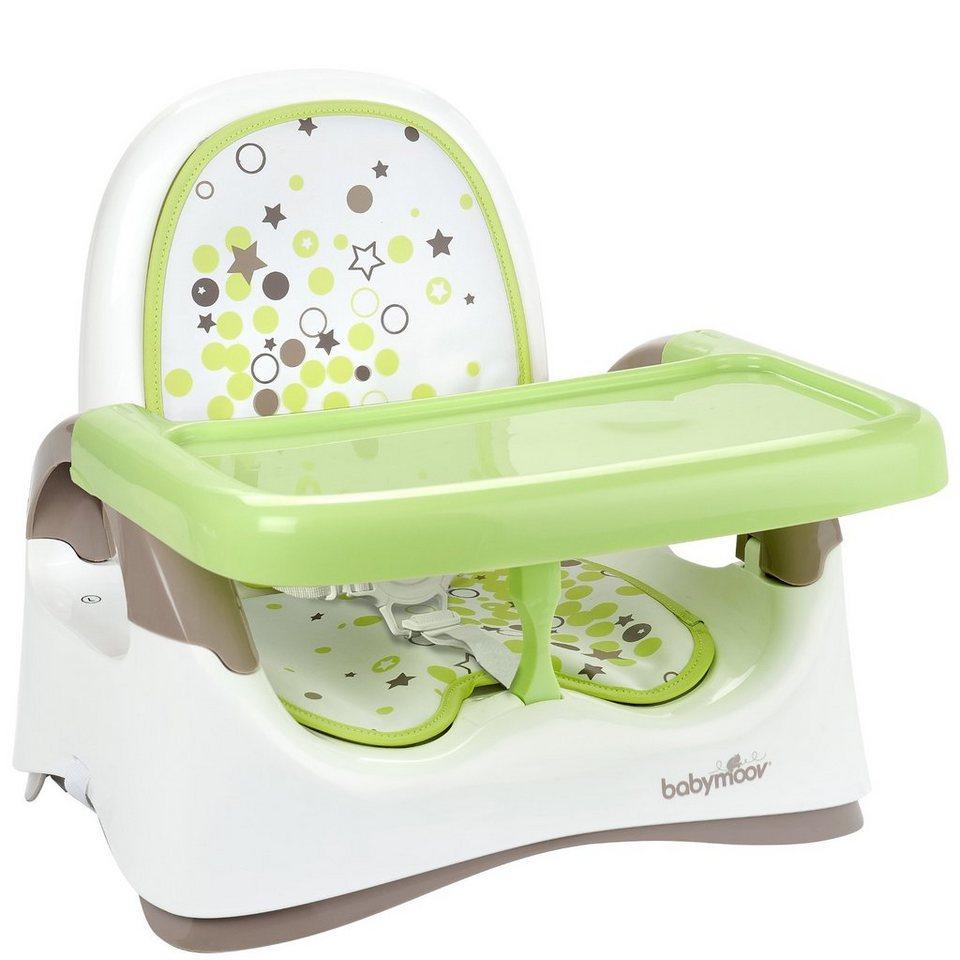 Babymoov Babystuhlsitz, braun/mandelgrün in grün