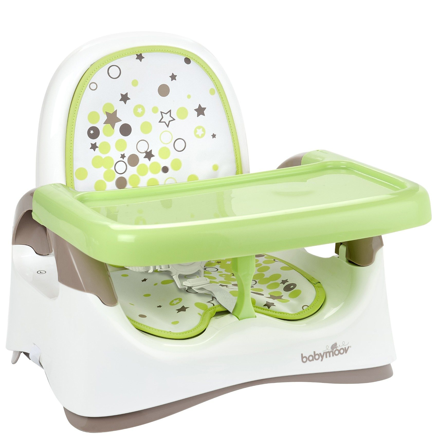 Babymoov Babystuhlsitz, braun/mandelgrün