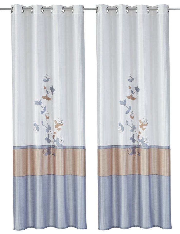 Vorhang, my home, »Markim« (2 Stück) in creme-grau
