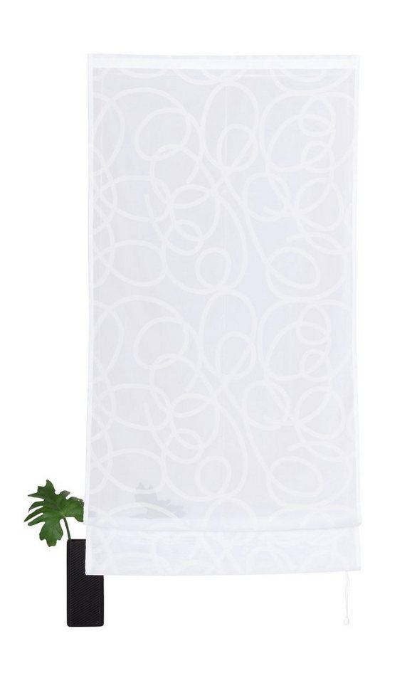 Raffrollo, My Home, »Tanaro« (1 Stck.) in weiß