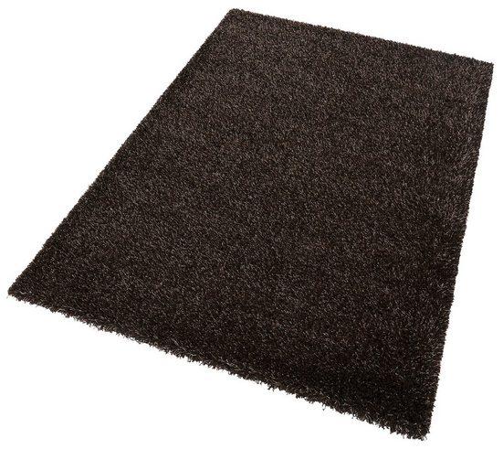 Hochflor-Teppich »Cosy Glamour«, Esprit, rechteckig, Höhe 40 mm, mit Melange-Effekt