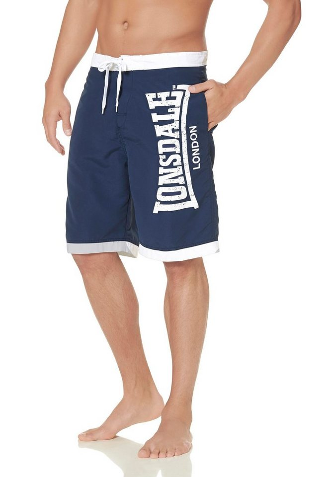 Lonsdale Shorts »Beach Short CLENNEL« in blau