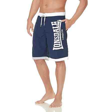 Lonsdale Shorts »Beach Short CLENNEL« Meshslip