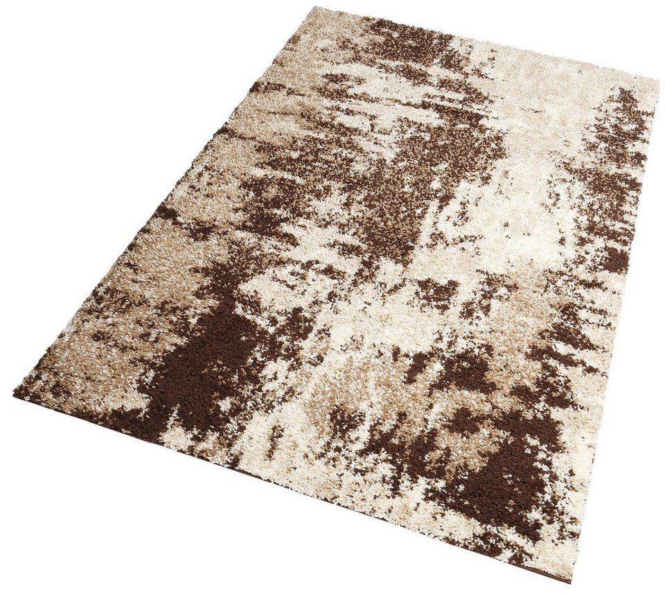 Hochflor-Teppich, my home, »Hannes«, Höhe 30 mm, gewebt in beige