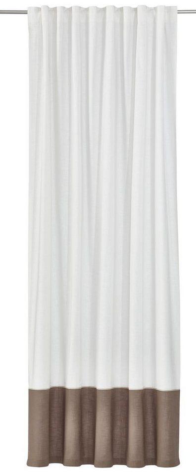 Vorhang, »Hamilton« (1 Stück) in weiß-kitt