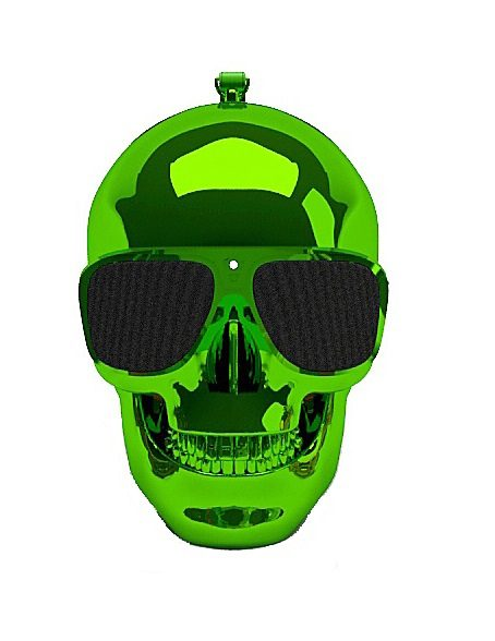 Jarre Technologies Bluetooth Lautsprecher »AeroSkull XS grün«