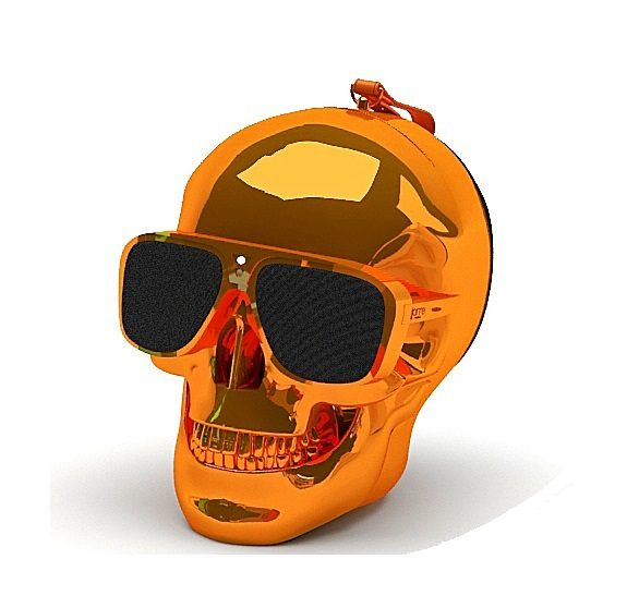 Jarre Technologies Bluetooth Lautsprecher »AeroSkull XS orange«