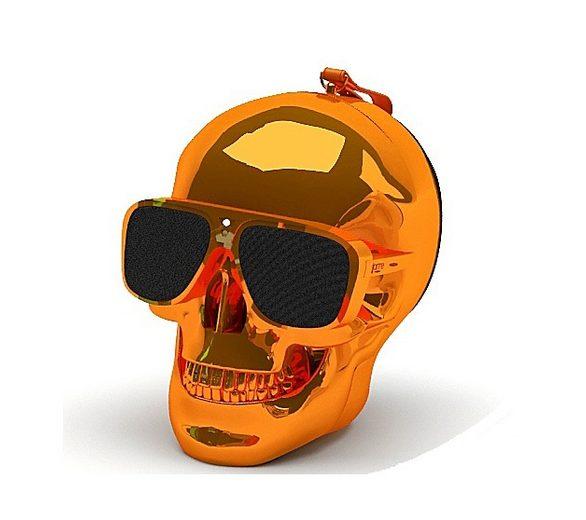 Jarre Technologies Bluetooth Lautsprecher »AeroSkull XS orange«