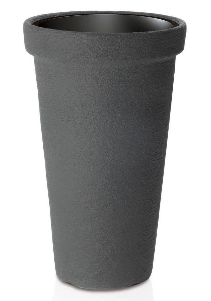 Blumentopf »Classic Tower 400«, anthrazit, Ø/H: 40/63 cm