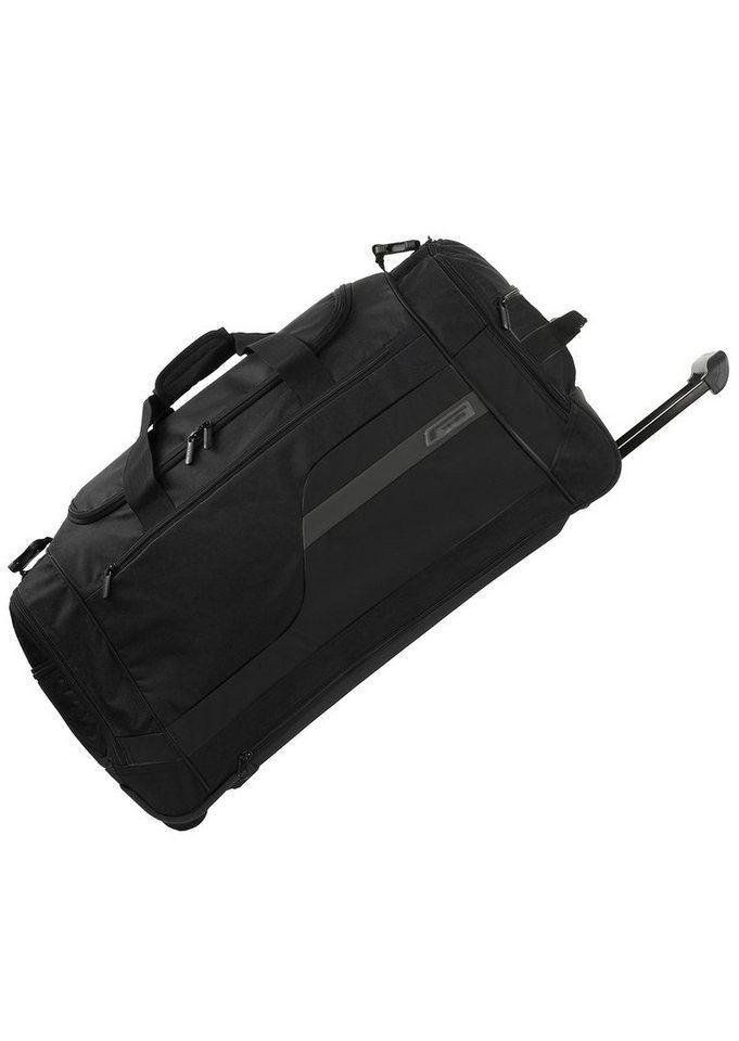 travelite, Trolley Reisetasche XL mit 2 Rollen, »Kick Off« in schwarz