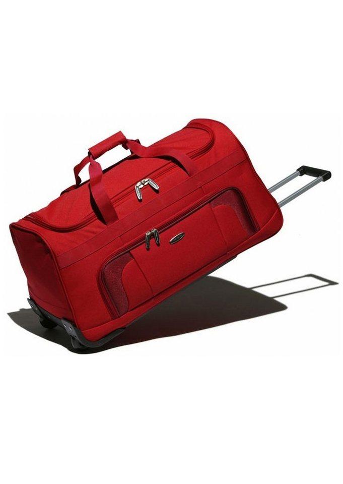 travelite, Trolley Reisetasche mit 2 Rollen, »Orlando« in rot