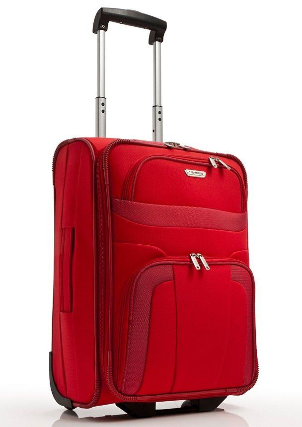 travelite, Trolley mit 2 Rollen, »Orlando« in rot