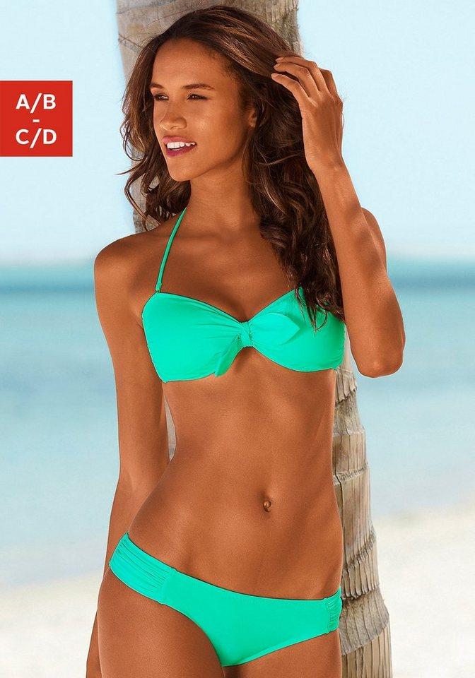 Venice Beach Bandeau-Bikini in mint