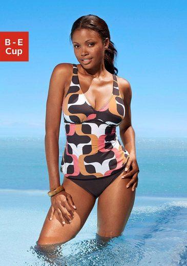 s.Oliver Beachwear Bügel-Tankini im Retrodesign