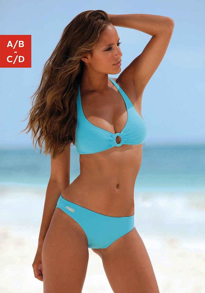 Venice Beach Triangel-Bikini mit Zierring zwischen den Cups