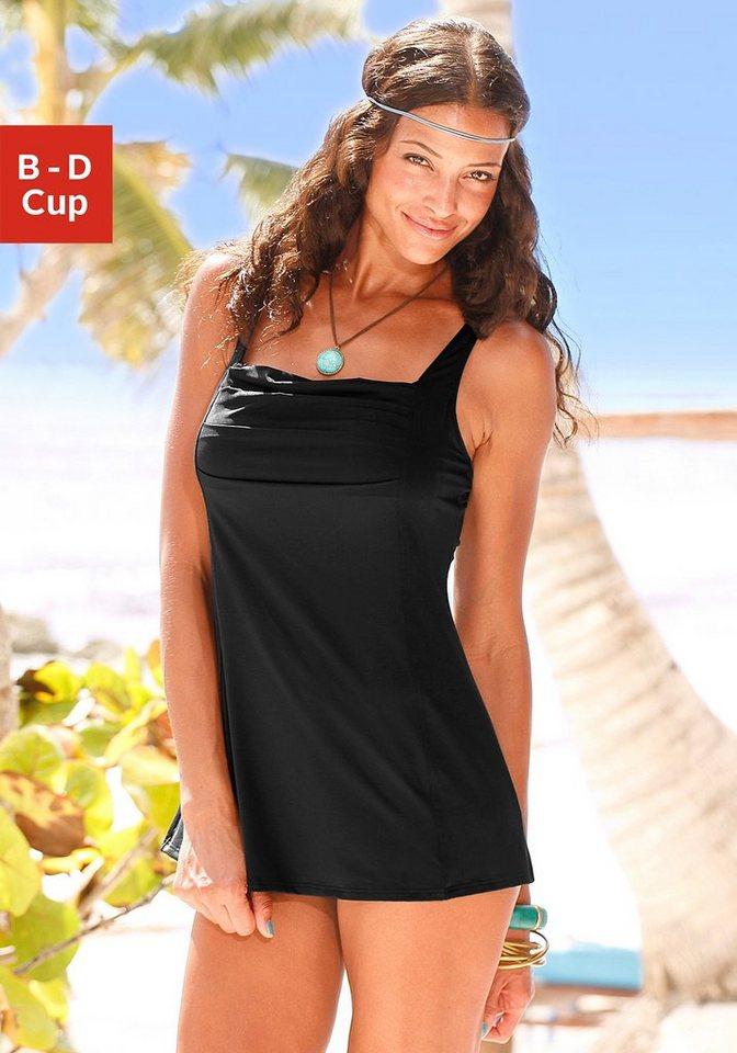 23be7b312fe9 LASCANA Badeanzugkleid mit schönem Druck oder unifarben online ...