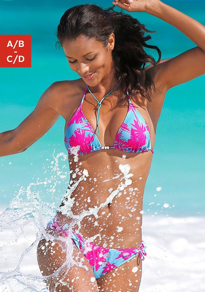 Venice Beach Triangel-Bikini mit Zierperlen kaufen   OTTO 7791fc3884