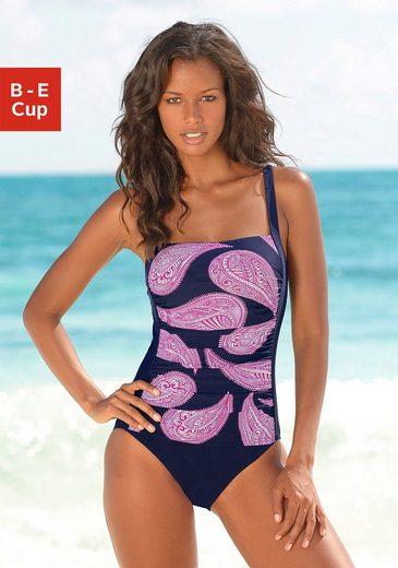 LASCANA Badeanzug, im modischen Floralprint