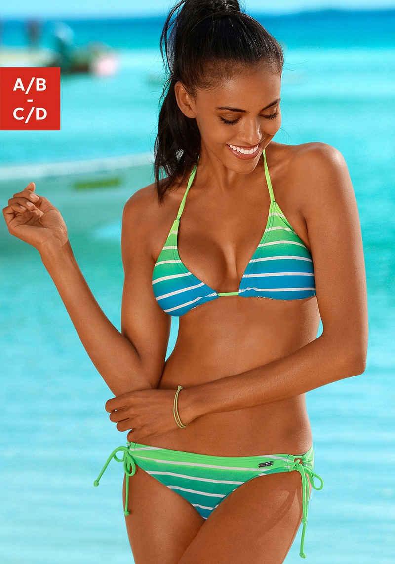 Venice Beach Triangel-Bikini in Neonfarben
