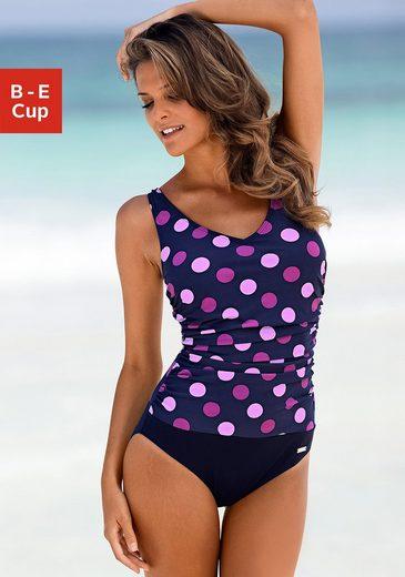 LASCANA Badeanzug, im schönen Punkte-Design