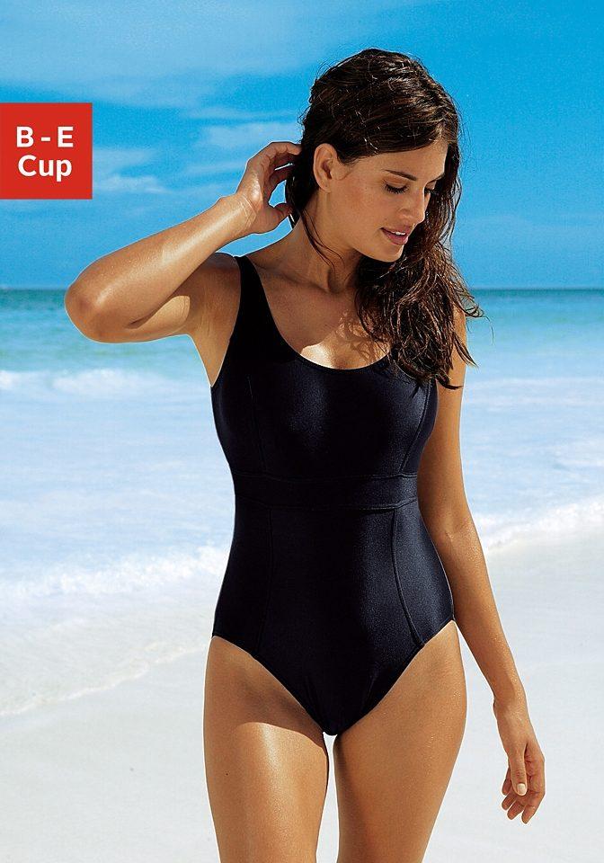 badeanzug damen schwarz gr 44