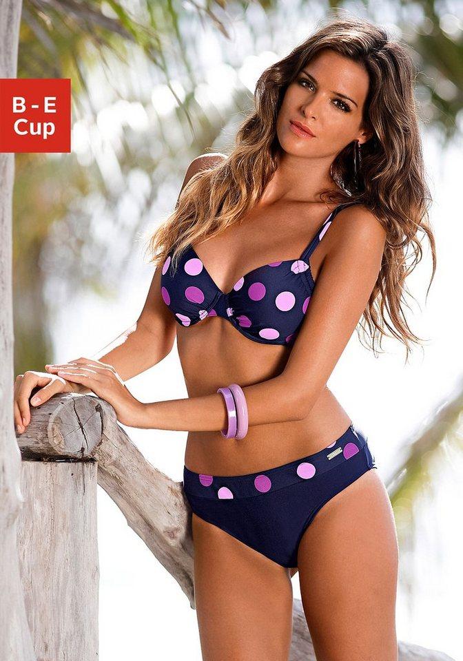 Bademode - LASCANA Bügel Bikini im modischen Punkte Design › blau  - Onlineshop OTTO