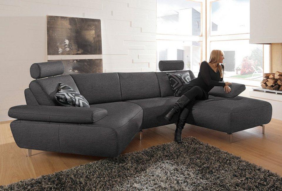 ada premium wohnlandschaft rooney wahlweise mit schweberelax funktion online kaufen otto. Black Bedroom Furniture Sets. Home Design Ideas