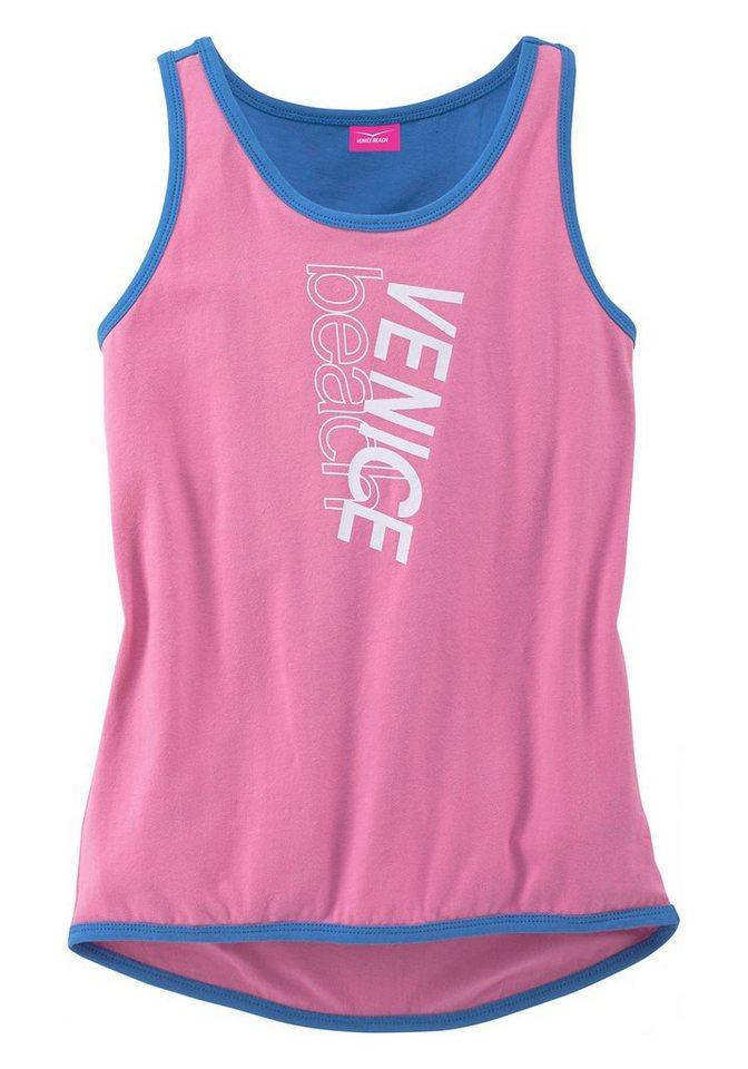 Venice Beach Top, für Mädchen in Pink