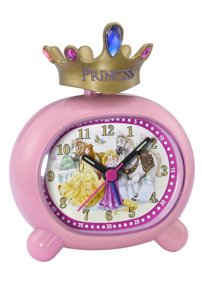 Wecker, »Princess 1«, Disney in rosafarben-bunt