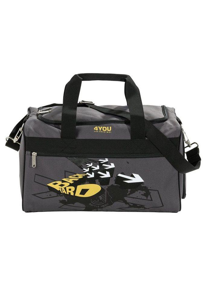 4YOU Sporttasche Backyard, »Sportbag M« in grau