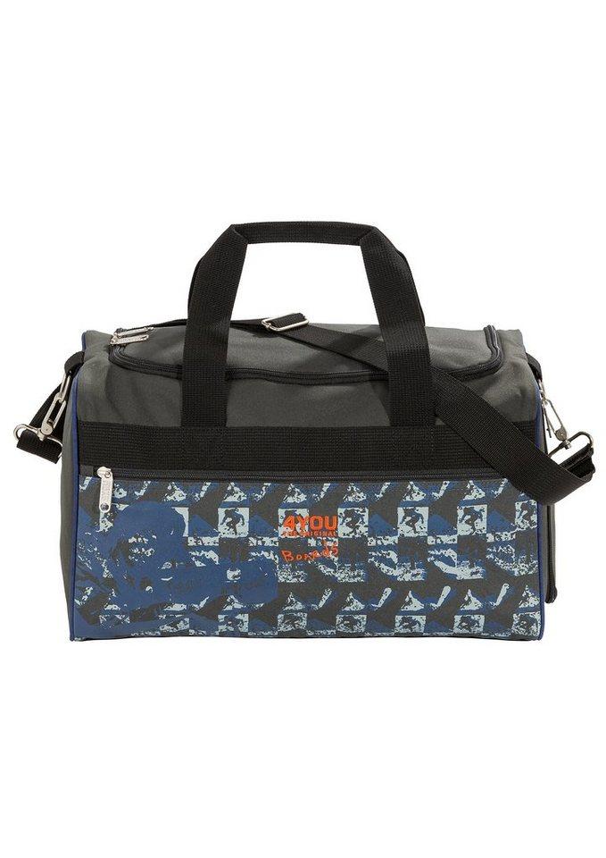 4YOU Sporttasche Boards, »Sportbag M« in blau