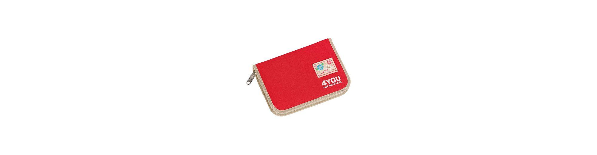 4YOU Mäppchen Just Red, »Etui XL ungefüllt«