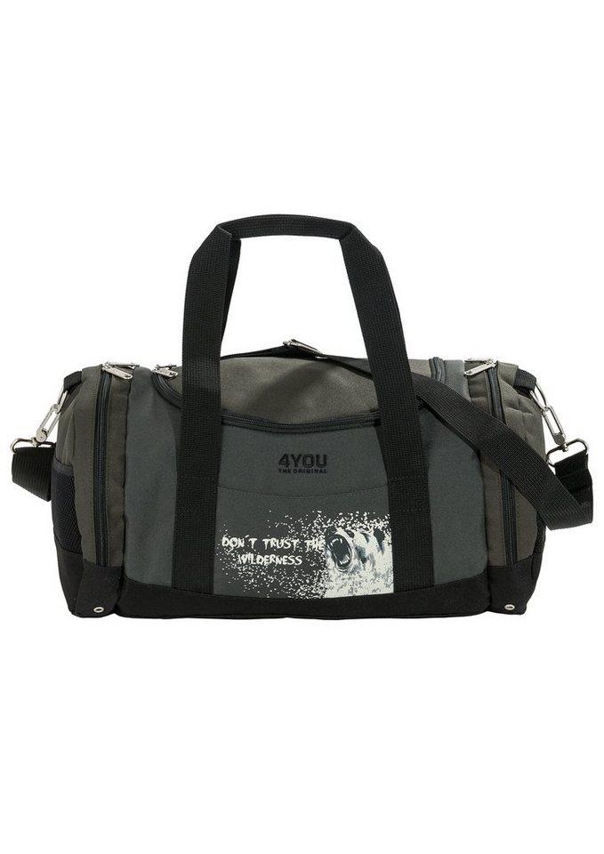 Sporttasche Wilderness, »Sportbag Function«, 4YOU in grün
