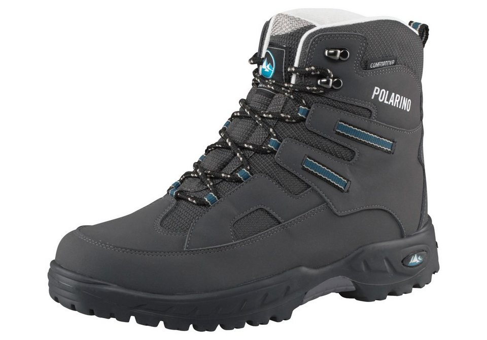 Polarino Flake Outdoorschuh in Anthrazit