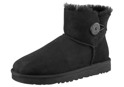 UGG »Mini Bailey Button 2« Stiefel mit tollem Logoknopf-Detail b3813207eb