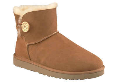 UGG »Mini Bailey Button 2« Winterboots mit tollem Logoknopf Detail