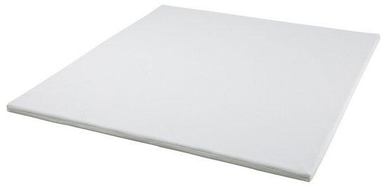 Topper, Home affaire, 5 cm hoch, Kaltschaumtopper in 4 Breiten, Höhe 5 cm