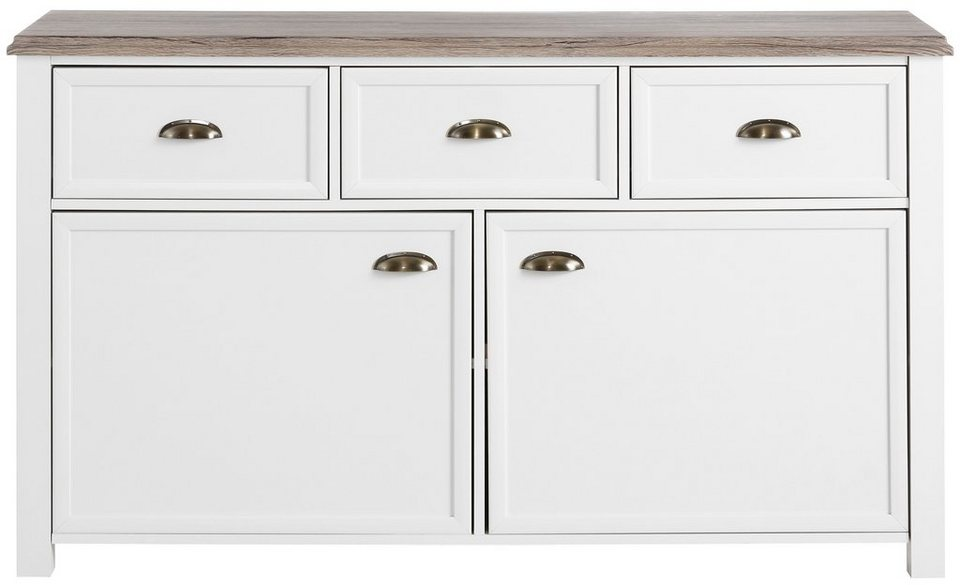 kommode home affaire chateau breite 138 cm otto. Black Bedroom Furniture Sets. Home Design Ideas
