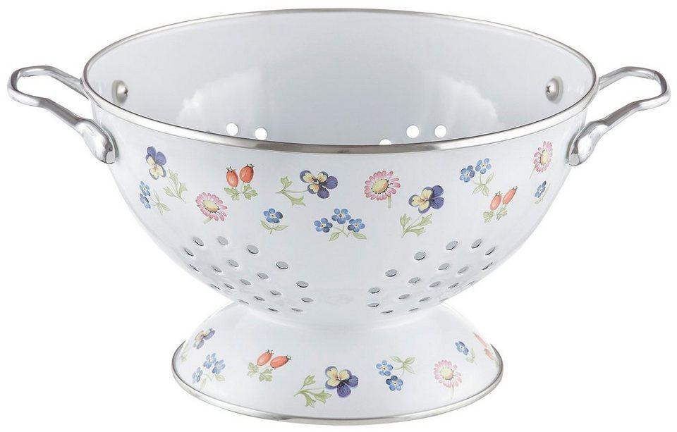 Sieb, Villeroy & Boch, »Petit Fleur« in weiß