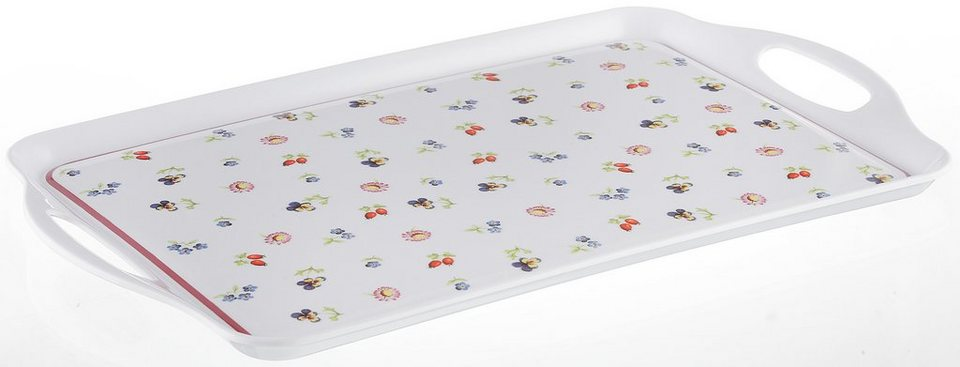 Tablett, Villeroy & Boch, »Petit Fleur« in bunt