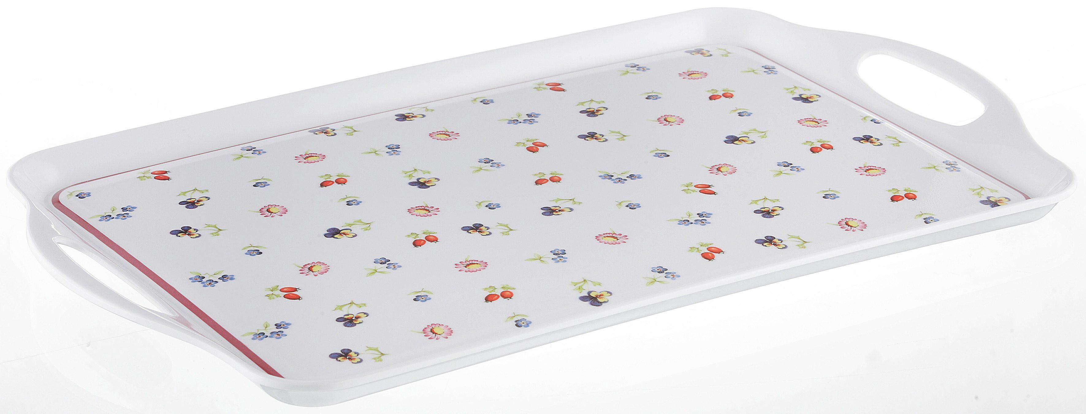 Tablett, Villeroy & Boch, »Petit Fleur«