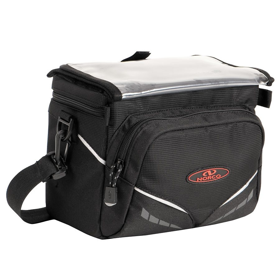 Norco Gepäckträgertasche »Idaho Lenkertasche schwarz«