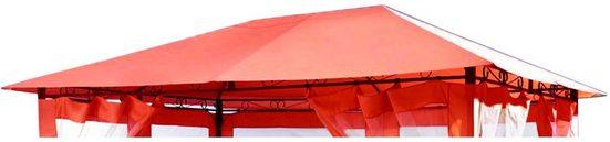 GRASEKAMP Ersatzdach für Pavillon »Rimini/Amalfi«, BxL: 390x293 cm