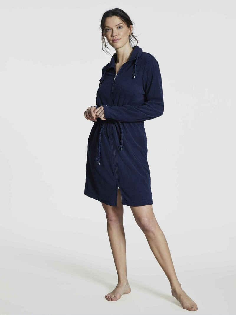 Damenbademantel »Parka mit Reißverschluss, Länge 90cm«, Taubert