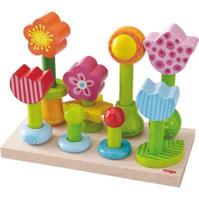Haba Steckspielzeug »HABA 301551 Steckspiel Blumengarten«