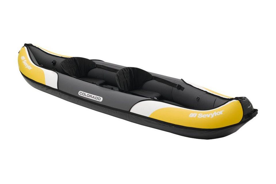Sevylor Boot »Colorado Kajak« in gelb