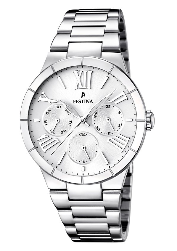 Festina Multifunktionsuhr »F16716/1« in silberfarben