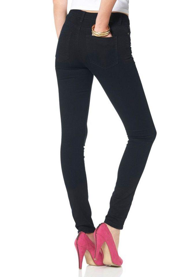 Arizona Slim-fit-Jeans »Super-Stretch« in rinsed