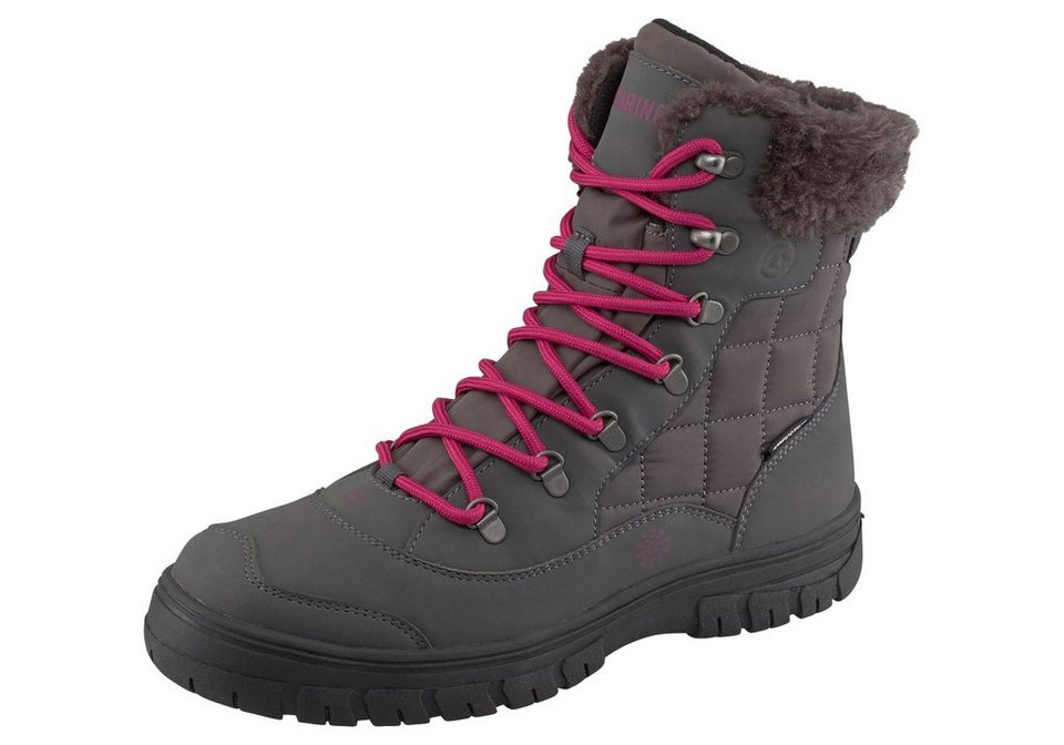 Polarino Ice Crystal Boot Winterstiefel in Anthrazit