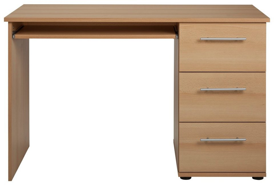 Schreibtisch »Tobi« in buchefarben
